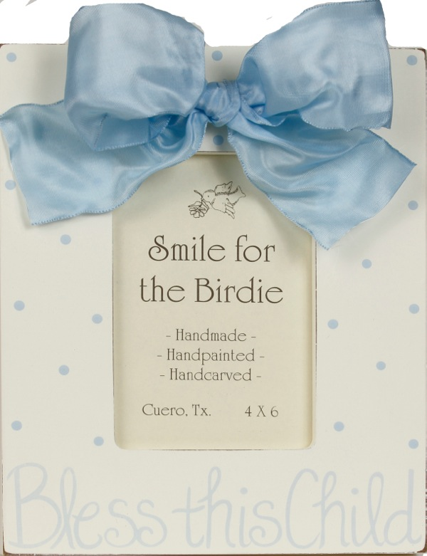 Bless this Child (Blue)  120-RB-
