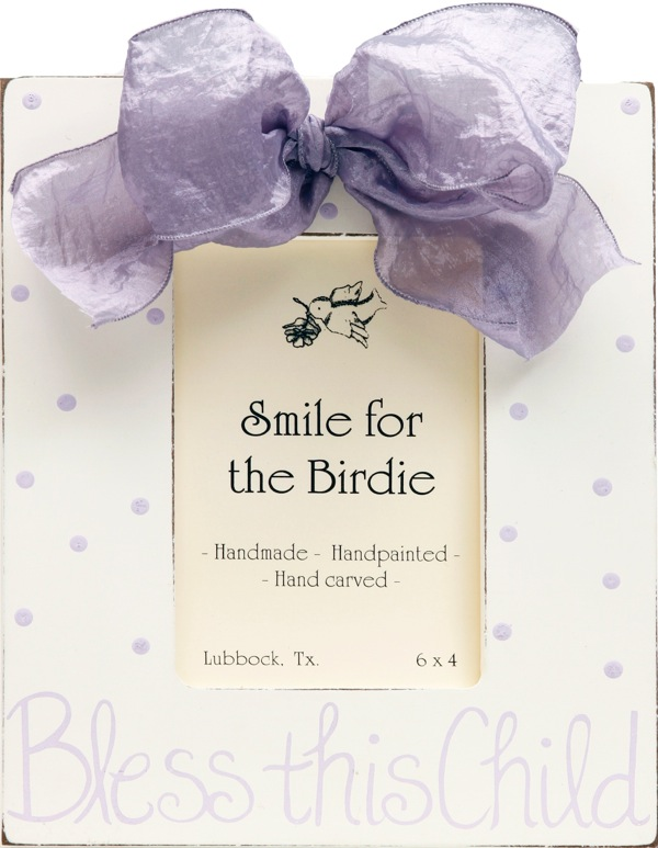Bless this Child (Lavender)  122-RL-
