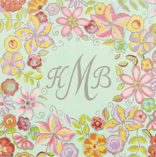 blooming hue hand painted canvas RM115-blooming hue