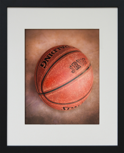 framed basketball photo art-