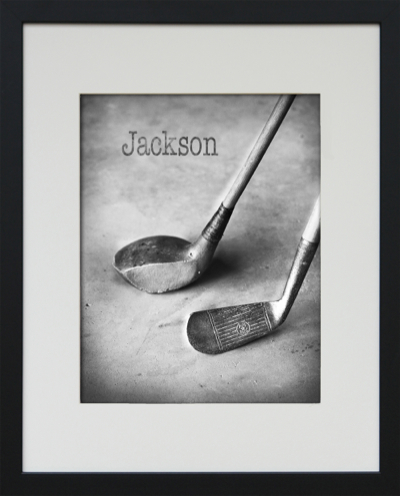framed golf photo art-