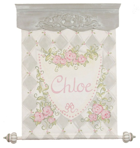 Gray Rose Banner CP757-