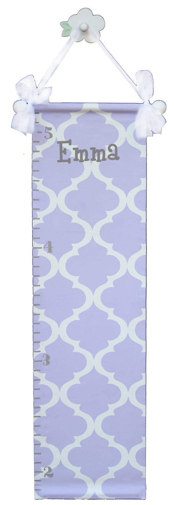 GC831 lavender trellis growth chart-
