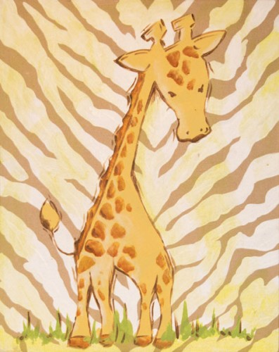 Safari Giraffe (Tan) CP254-