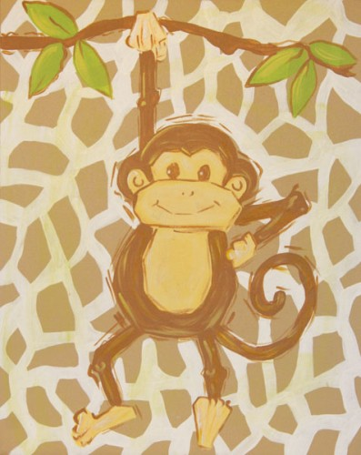 Safari Monkey (Tan) CP251-