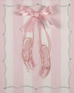 satin ballet shoes  CP406-