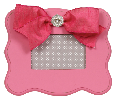 candy pink scalloped frame 802-CP-