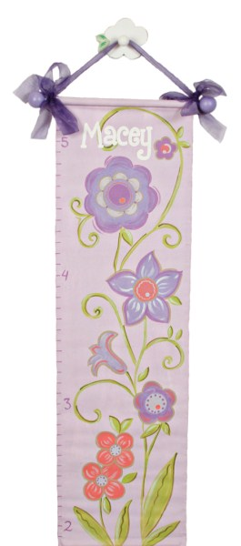 lavender flower growth chart GC313-
