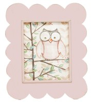 *Pink Scalloped frame FR06-