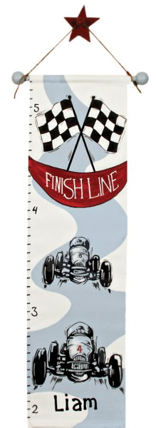 racing growth chart GC003-