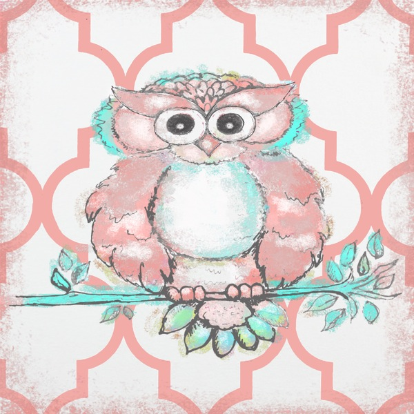 WP150 Coral Moroccan Owl-
