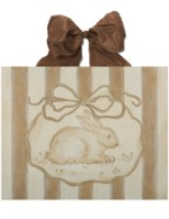 chocolate & cream bunny  CP771-