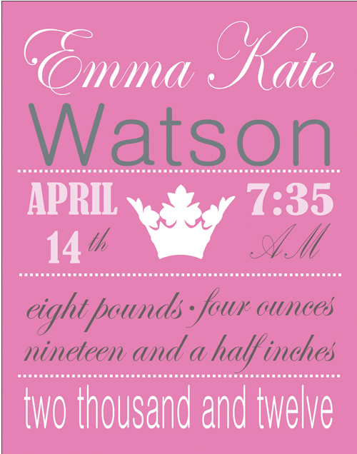 crown birth announcement FP04-crown birth announcement