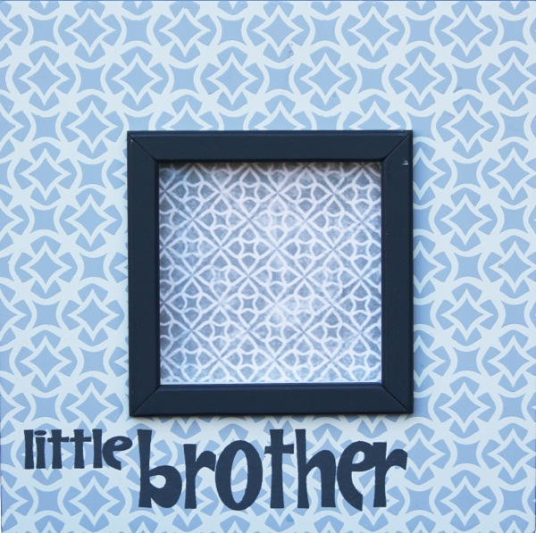 854-B little brother frame-