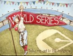 world series mural LM05-world series mural, baseball