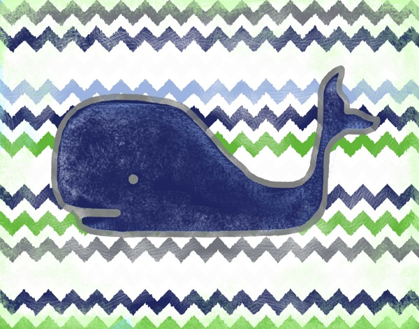 WP130 navy whale-