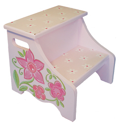 flower step stool SS311-