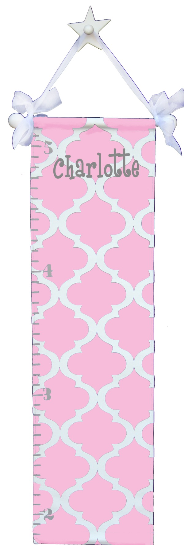 GC832 pink trellis growth chart-