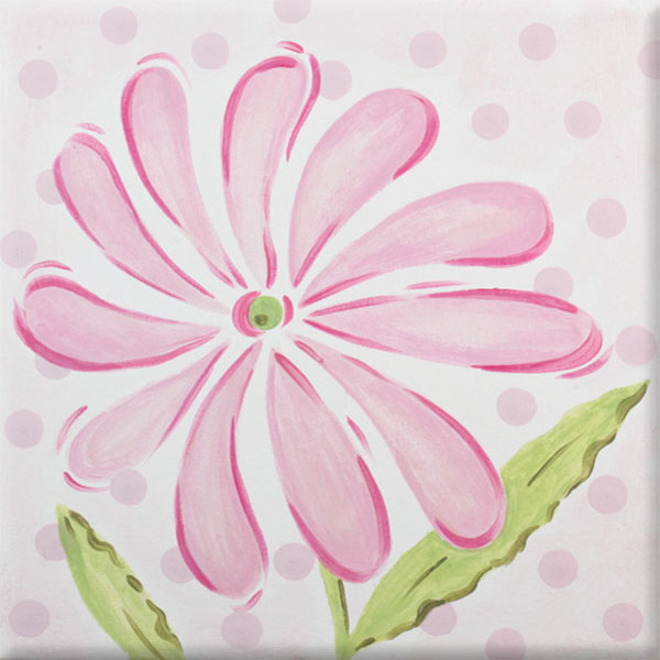 PP11 pink daisy-