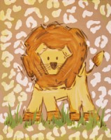 Safari Lion (Tan)-