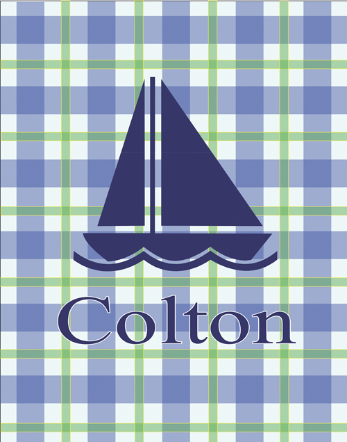 sailboat FP09-sailboat art, personalized art