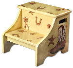 cowboy step stool SS900-cowboy step stool